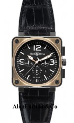 Bell & Ross Automatic 46mm Model BR01 94 Pink Gold & Carbon