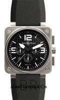 Bell & Ross Automatic 46mm Model BR01 94 Titanium