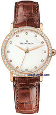 Blancpain Ladies Ultra-Slim Seconds Model 6102-2987-55
