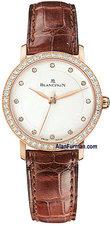 Blancpain Ladies Ultra-Slim Seconds Model 6102-2987-55