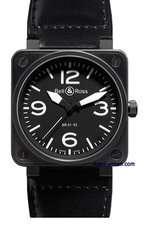 Bell & Ross Automatic 46mm Model BR01 92 Carbon