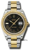 Rolex SS 18K Yellow Gold Model 116333BKRIO