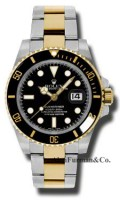 Rolex SS 18K Yellow Gold Model 116613LN