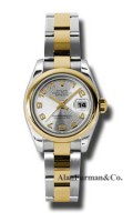 Rolex SS 18K Yellow Gold Model 179163SCAO