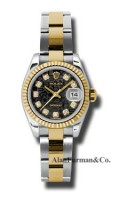 Rolex SS 18K Yellow Gold Model 179173BKJDO