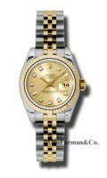 Rolex SS 18K Yellow Gold Model 179173CHDJ