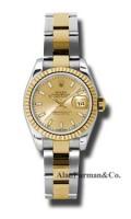 Rolex SS 18K Yellow Gold Model 179173CHSO