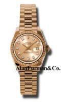 Rolex 18K Rose Gold Model 179175CHDP