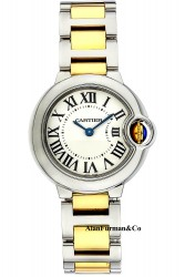 Cartier W2BB0010 28mm Quartz