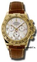 Rolex 18K Yellow Gold Model 116518MD