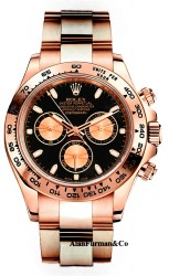 Rolex 18K Rose Gold Model 116505BK edit