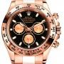 Rolex 18K Rose Gold Model 116505BK edit
