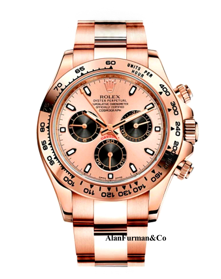 Rolex 18K Rose Gold Model 116505CH
