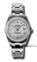 Rolex 18K White Gold Model 81339MD