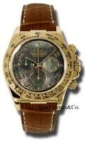 Rolex 18K Yellow Gold Model 116518DKMRBR