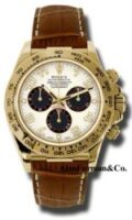 Rolex 18K Yellow Gold Model 116518IBKBR1