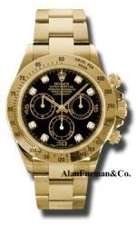 Rolex 18K Yellow Gold Model 116528BKD