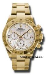 Rolex 18K Yellow Gold Model 116528MD
