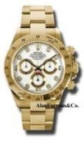 Rolex 18K Yellow Gold Model 116528WD