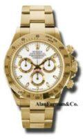 Rolex 18K Yellow Gold Model 116528WS