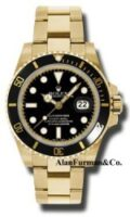 Rolex 18K Yellow Gold Model 116618BK