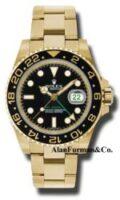 Rolex 18K Yellow Gold Model 116718BK