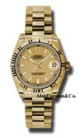 Rolex 18K Yellow Gold Model 178278CHIP