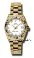 Rolex 18K Yellow Gold Model 178278WRP
