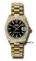 Rolex 18K Yellow Gold Model 178288BKIP