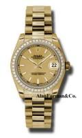 Rolex 18K Yellow Gold Model 178288CHIP