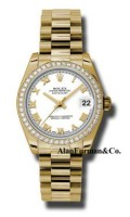 Rolex 18K Yellow Gold Model 178288WRP