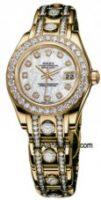 Rolex 18K Yellow Gold Model 80318MDPD Custom