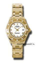 Rolex 18K Yellow Gold Model 80318WR
