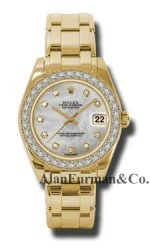 Rolex 18K Yellow Gold Model 81298MD