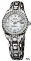 Rolex 18K White Gold Model 80319MDP Custom