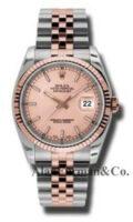 Rolex SS 18K Rose Gold Model 116231CHSJ