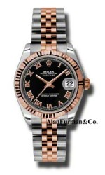 Rolex SS 18K Rose Gold Model 178271BKRJ