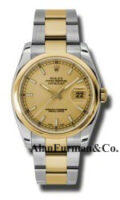 Rolex SS 18K Yellow Gold Model 116203CHSO