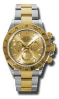 Rolex SS 18K Yellow Gold Model 116523CHS