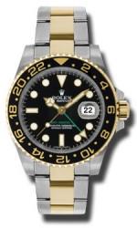 Rolex SS 18K Yellow Gold Model 116713LN
