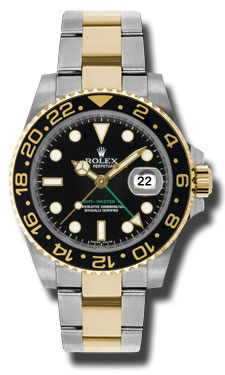 Rolex SS 18K Yellow Gold Model 116713LN