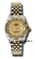 Rolex SS 18K Yellow Gold Model 178273CHIJ