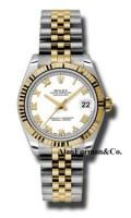 Rolex SS 18K Yellow Gold Model 178273WRJ