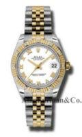 Rolex SS 18K Yellow Gold Model 178313WRJ