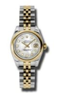 Rolex SS 18K Yellow Gold Model 179163MDJ Custom