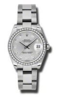 Rolex Steel Diamond Custom Model 178240