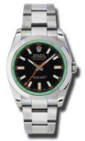 Rolex Steel Model 116400VBKO