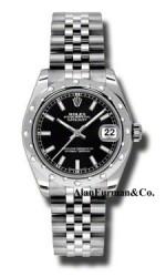 Rolex Steel Model 178344BKIJ