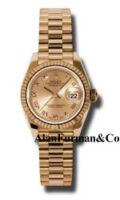 Rolex 18K Rose Gold Model 179175CHRP