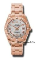 Rolex 18K Rose Gold Model 81315MDR